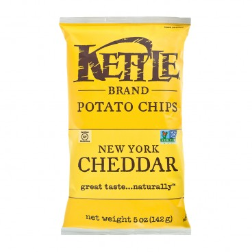 KETTLE Chips New York Cheddar W Herbs 5OZ