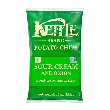 KETTLE Chips Sour Cream Onion 5OZ