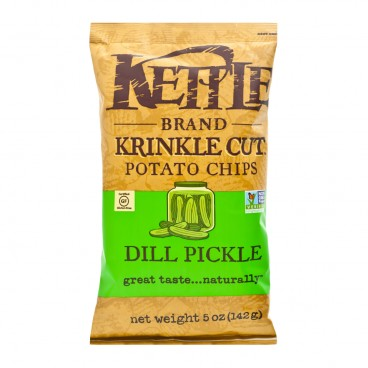 KETTLE Krinkle Chips Dill Pickle 5OZ