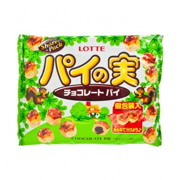 LOTTE Puff chocolate 133G