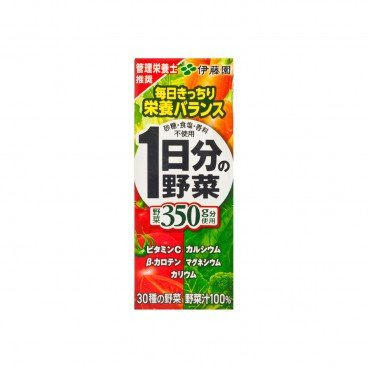 ITOEN - Daily Of Vegetable Juice Tetra Pack - 200ML