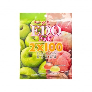 EDO PACK - Gummy green Apple peach - 120G