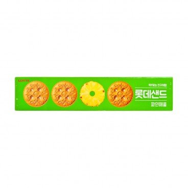 LOTTE Sand Biscuit pineapple 105G