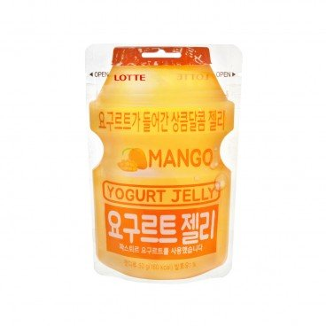 LOTTE Yogurt Jelly Candy mango 50G