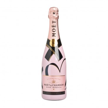 MOET & CHANDON Rose Imperial Living Tie Limited Edition 75CL