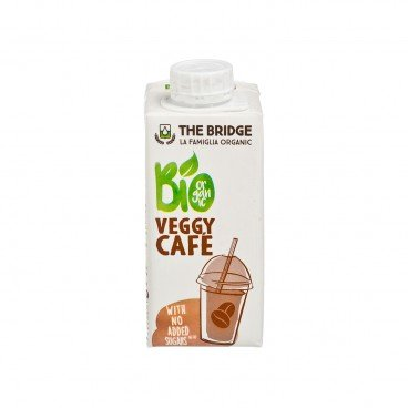THE BRIDGE Organic Rice Drink almond And Coffee 200ML