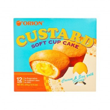 ORION - Custard Cake - 12'S