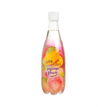 TAO TI - Mango Peach Carbonated Juice Drink - 500ML