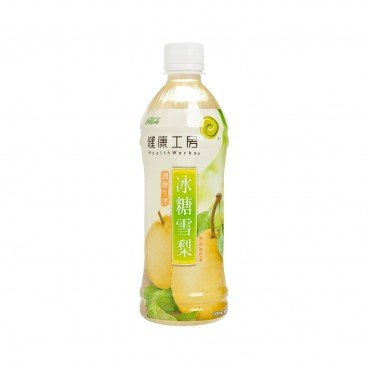 HEALTHWORKS - Rock Sugar With Pear Drink - 500ML
