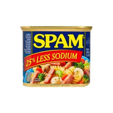 SPAM - 25 Less Sodium Lunch Meat - 340G