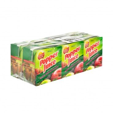 POPPER - Apple Blackcurrant Juice Mini Pack - 150MLX6