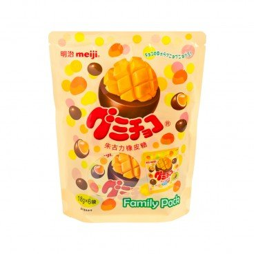 MEIJI Gummy Chocolate mango 18GX6