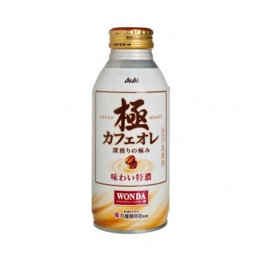 ASAHI - Wonda Kiwami Rich Cafe Au Lait - 400ML
