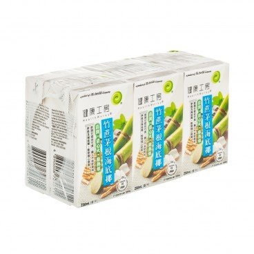HEALTHWORKS - Sugarcane Sea Coconut Drink - 250MLX6