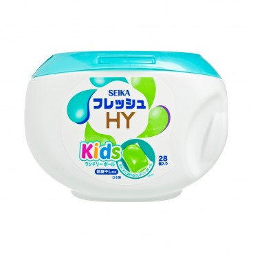 SEIKA - Kids Laundry Capsules Box - 28'S