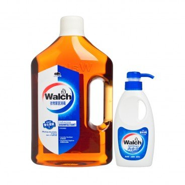 WALCH - Multi purpose Disinfectant Liquid Detergent Set - 3L+300ML