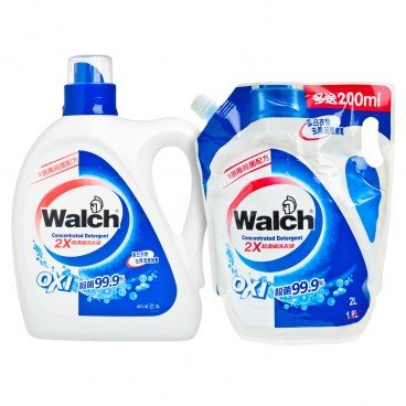 WALCH - Concentrated Detergent Refill Set - 2L+2L