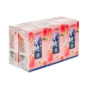 VITA - Japanesse Style Peach Tea - 250MLX6