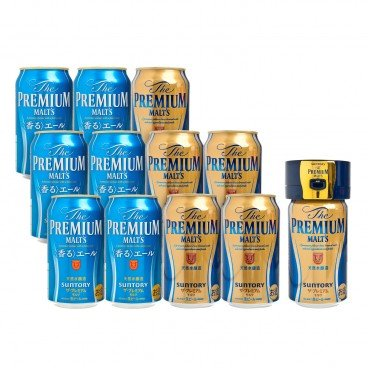 SUNTORY - The Premium Malts Giftpack Limited Edition Ale Limited To Hk Ultrasonic Handy Server - SET