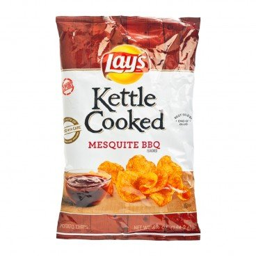 LAY'S Kettle Cooked Potato Chips bbq 184.2G