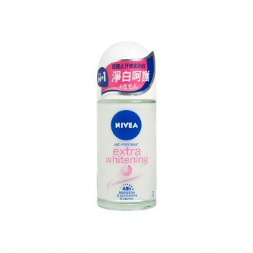 NIVEA - Deo Extra Whitening Roll On - 50ML