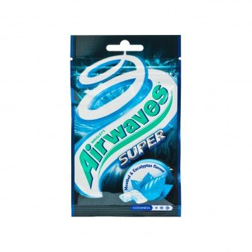 AIRWAVES Sugarfree Chewing Gum super Mint 18'S