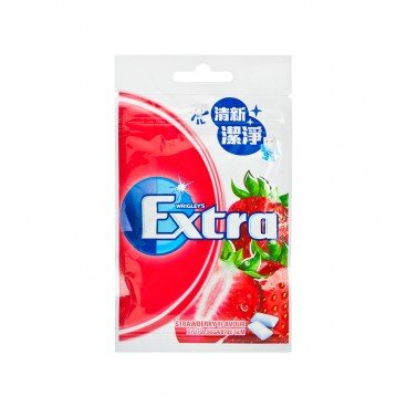 EXTRA Xylitol Chewing Gum strawberry 20'S