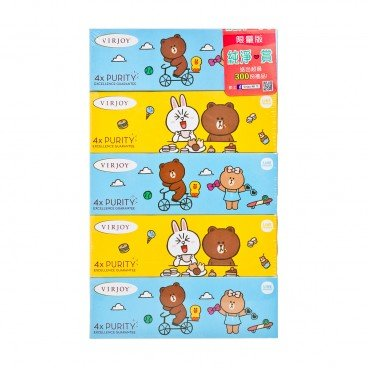 VIRJOY Line Friends Box Tissue 5'S