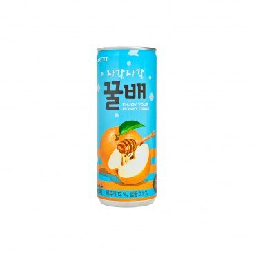LOTTE - Honey Pear Drink - 240ML