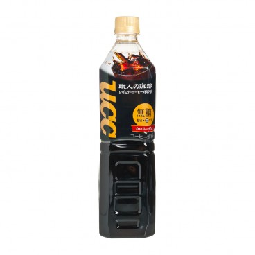 UCC - Shokunin Black Coffee Pet - 930ML