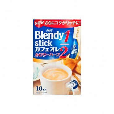 AGF - Blendy Stick Half Calorie Cafe Latte - 6.4GX10