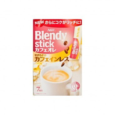 AGF Blendy Stick Cafe Latte Caffeinless 10GX7