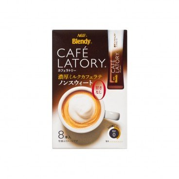 AGF Cafe Latory Rich Cafe Latte Non Sugar 11GX8