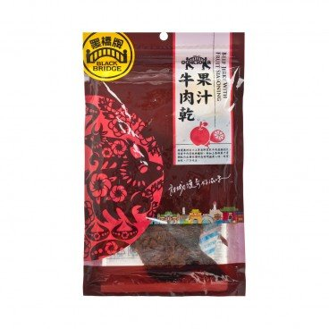 BLACKBRIDGE Beef Jerky With Fruit Seasoning 85G