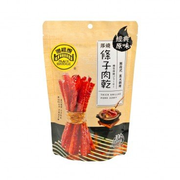 BLACKBRIDGE Thick Grilled Pork Jerky 100G
