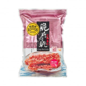 BLACKBRIDGE Crisp Pork Jerky With Almond Sesame And Sergestid Shrimp 70G