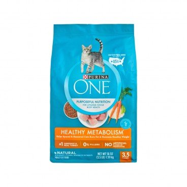 ONE Cat Healthy Metabolism 3.5LB