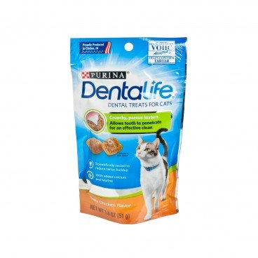 DENTALIFE Daily Oral Care Chicken Cat Treats 1.8OZ