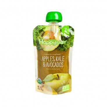 HAPPY BABY Organic Clearly Crafted Apple Kale Avocado 113G
