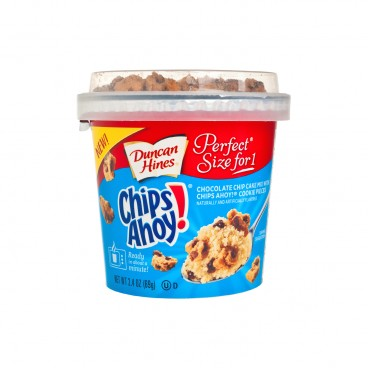 DUNCAN HINES - One Cup Chocolate Chip Cake With Chips Ahoy - 69G