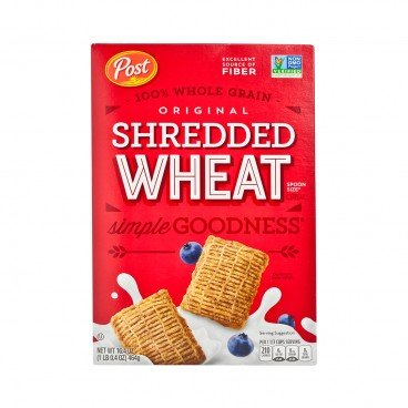 POST(PARALLEL IMPORT) - Shredded Wheat Spoon Size Cereal - 464G