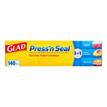 GLAD Pressn Seal Plastic Wrap 140FT