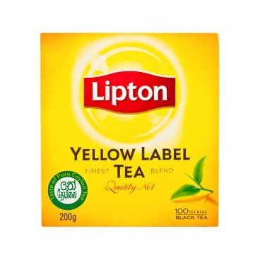 LIPTON(PARALLEL IMPORT) - Yellow Label Tea Bags - 2GX100