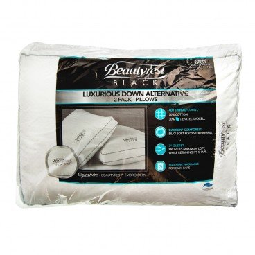 SIMMONS - Beautyrest Black Pillows 2 Pack - 2'S
