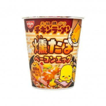 NISSIN Cup Noodle ganso X Gudetama Series bacon Flavored 92G
