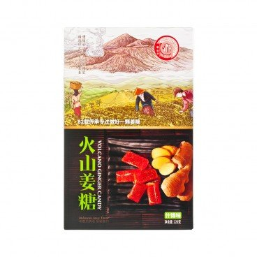 SINA Volcano Ginger Candy assorted Flavored 220G