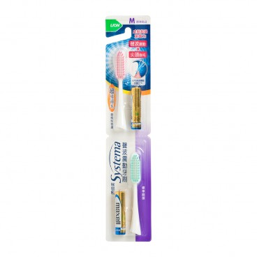 SYSTEMA Sonic Toothbrush Refill Regular With Aaa Battery 2 s PC