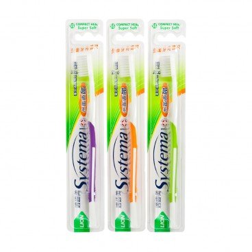 SYSTEMA Toothbrush compact Head random One PC