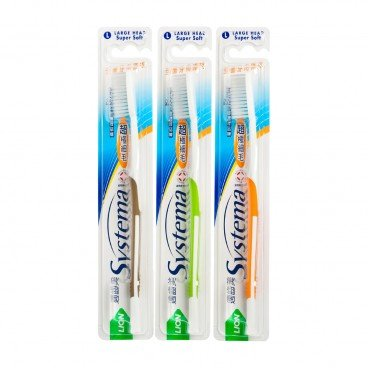 SYSTEMA Toothbrush large Head random One PC