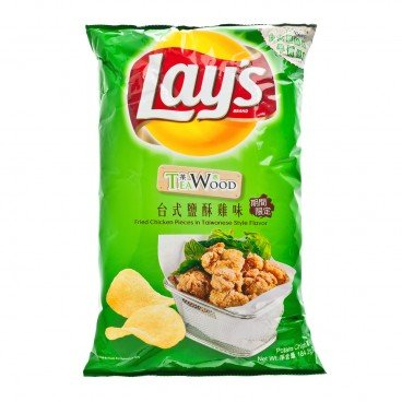 LAY'S Potato Chips fried Chicken Pieces In Taiwan Style 184.2G